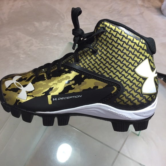 size 40 b896c 001d9 Under Armour Shoes | Under Armor Baseball Cleats New Size 15 Youth ...